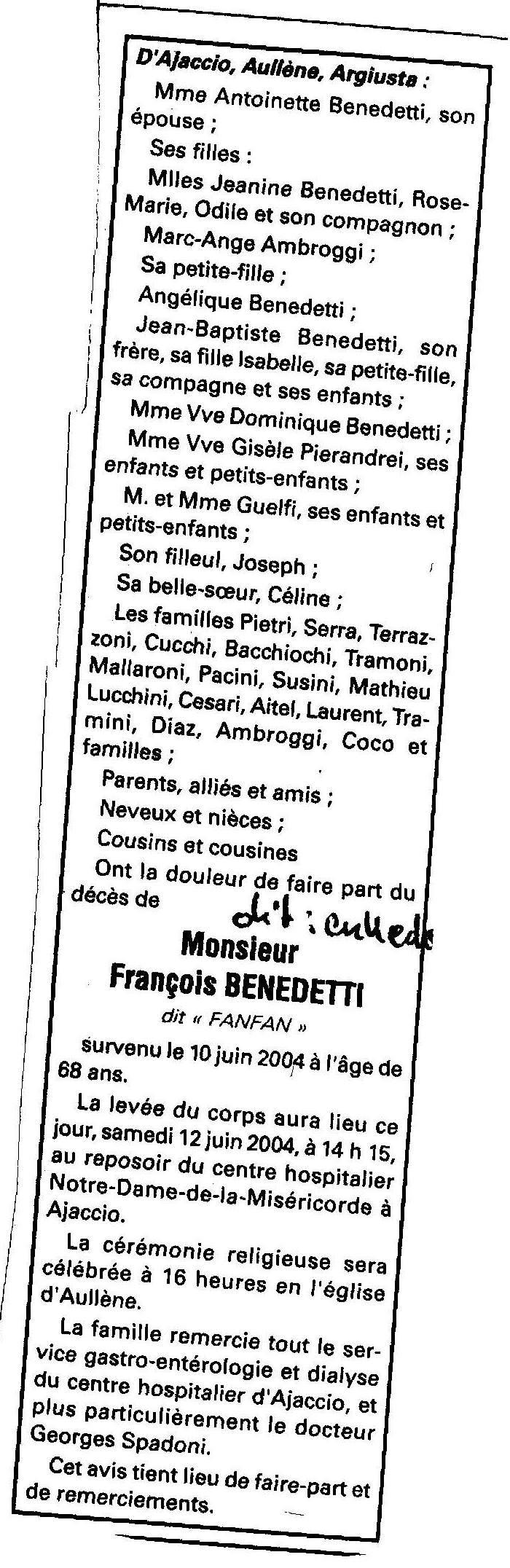 poli françois veuve mariani
