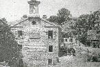 Le temple protestant d'Aullène au début du 20ème siècle